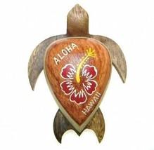 """Nuevo Hawaiian Recuerdo Imán de Nevera ~ 4"""" Grande Madera Turtle #18122 ... - $9.38"""