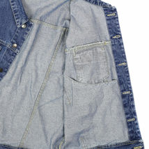 Star Jean Men's Classic Premium Button Up Cotton Denim Jean Jacket Blue image 4