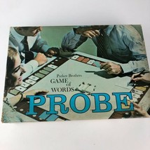 Vintage Probe Game Of Words Complete Board Game Classic 1964 Parker Brothers  - $7.90