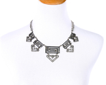 Ric hollow out silver color maxi necklace wholesale jewelry new pendant necklace 2 thumb155 crop