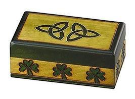 Celtic Trinity Knot Jewelry Box Polish Hand Crafted Wood Celtic Small Ke... - €17,51 EUR