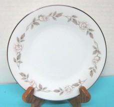 Noritake Lillian #6662 1965 - 1971 Pink White Rose Bread Butter Cake Plate 1PC - $7.92