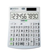 Datexx DD-740 Hybrid Power 10 Digit Desktop Calculator - $16.45