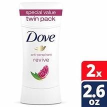 Dove Advance Care Antiperspirant Deodorant, Revive, 2.6 oz, Twin Pack (Revive) - $17.38