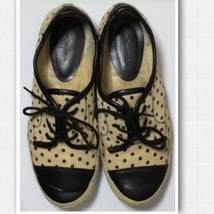 G.H. Bass & Co. Canvas & Synthetic Leather Shoes Size: 8M