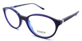 Starck Eyes Mikli Rx Eyeglasses Frames SH3027 0007 52x18 Matte Blue / Black - $134.64