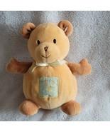 Carters Sweet Baby Bear Bee Stuffed Plush Teddy Brown Tan  - $59.39