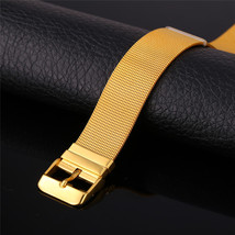 Fashion Women Bracelet Stainless Steel 18K Gold Plated - $56.49