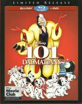 Disney 101 Dalmatians Limited Release [Blu-ray + DVD]