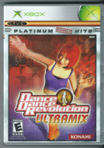 Dance Dance Revolution Ultramix (Microsoft Xbox, 2003, Platinum Family Hits) - $5.00