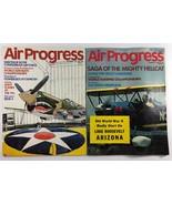 Vintage Lot of 2 AIR PROGRESS Aviation Airplane Magazines of 1970 - $9.89
