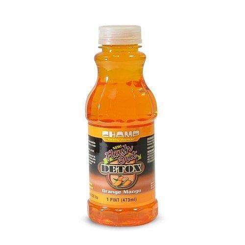 Champ Flush Out Detox Drink - Orange-mango by Champs - $9.89