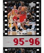 Michael Jordan Upper Deck 98-99 MJ Timeframe #87 95-96 Chicago Bulls MVP... - $0.75