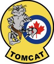 "Tomcat Canada Decal 4"" Wide x 4.74"" - $11.87"