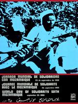 "20x30""Political World Solidarity Socialist Poster CANVAS.Mozambique.6197 - $75.00"