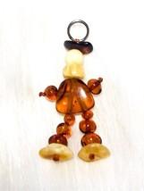 Natural Amber Pendant For Keys - $8.21