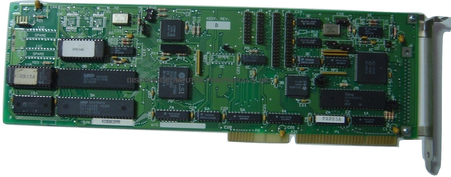 DTC 7287 16BIT ISA MFM RLL Hard Drive Controller AS IS