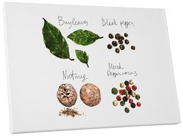 "Pingo World 0718QNB1Y1A ""Spices Kitchen"" Gallery Wrapped Canvas Wall Art, 20"" x  - $42.52"