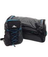 High Sierra 30 inch Drop-Bottom Wheeled Duffel and Pack-N-Go Backpack Set - $139.99