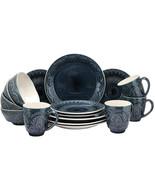 Elama Petra 16 Piece Stoneware Dinnerware Set - $102.10