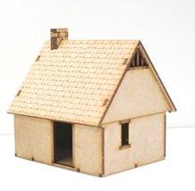 Bandua Wargames 28mm Terrain Northern European House