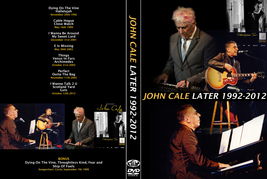 JOHN CALE - LATER 1992-2012 DVD - $23.50