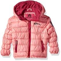 Weatherproof Baby Girls Cinch Bubble Jacket, Coral, 24M - $44.69