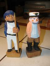 Madera Decorativa Sailer Hombre Figuras, Scruffy Antigua Hombre - $19.08