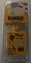 """DeWalt  D180015 15/16"""" Bi-Metal Hole Saw USA - $5.45"""