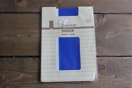 Vintage Nwt Sharon Schier Einheitsgröße 45.5-90.5kg Strumpfband Königsblau - $6.26