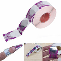 20 Nail Art Purple Guide Forms Acrylic/UV Gel Tips Extensions Manicure S... - $3.19