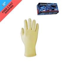 100Pcs Microflex Diamond Grip Latex Powder-Free Gloves 6.3 mils Thick Me... - $12.85
