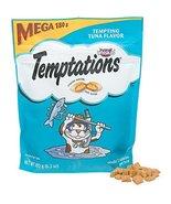 Whiskas Temptations Tempting Tuna Flavor Mega 180g 6.3 Oz Pouch - $14.99