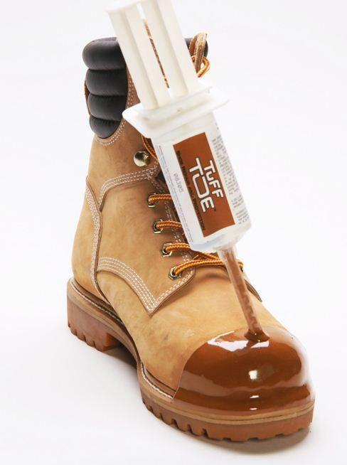 Tuff Toe Polyurethane Work Boot Protector Chemical and Water-Resistant
