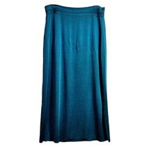 Blue Maxi Skirt Exclusively Misook Womens Size ... - $37.34