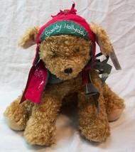 """Hallmark Bunnies by Bay BUDDY HOLLYDAY PUPPY DOG 8"""" Plush Stuffed Animal... - $16.34"""