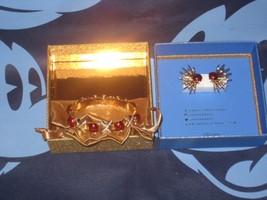 Disney D23 Art of Snow White Jewelry Set by Danielle Nicole Bracelet Bra... - $61.87