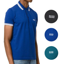 Hugo Boss Men's Premium Cotton Green Tag Sport Polo Shirt T-Shirt Paddy