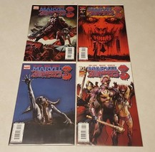 Comic Book Lot 4 Marvel Zombies 3 1 2 3 4 Nm Board Sleeve - $7.43