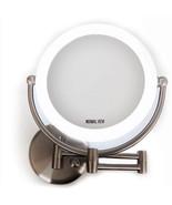 "L.E.D. light wall mount mirror 1x/10x, 8.6"" in diameter and 17.5"" Height... - $1.121,65 MXN"