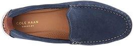 Cole Haan Men's Boothbay Slip ON Loafer, Marine Blue Nubuck, 10 Medium US image 8