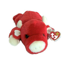 "Ty Beanie Buddies Snort the Red Bull Plush 1996 14"" Mint Tags Baby Buddy - $17.95"
