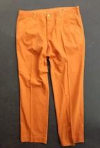 Men's vintage Polo Ralph Lauren Senior Class  retro ORANGE pants Fast Ship , - $17.76