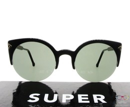 RETROSUPERFUTURE Super Sunglasses Lucia Deco F3F / Black Lens Cat Eye New - $76.44