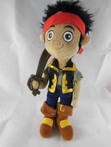 Disney Jake and the Neverland Pirates 12 inch Plush Doll with sword Nice... - $6.92