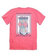 Itsa Girl Thing T-Shirt Teacher Mason Jar Pencils Bow Tie - Color Coral ... - $19.79