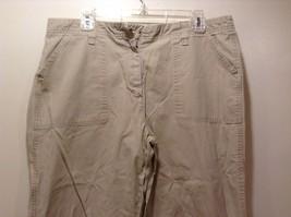 Eddie Bauer Ladies Casual Cropped Pants Sz 14 image 2