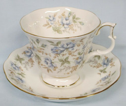 Royal Albert Rose Chintz Series Cup and Saucer Blue Gown - $24.64