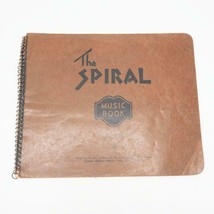 Vintage The Spiral Music Book Notebook - $14.84