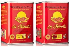 La Chinata Smoked Paprika Powder - Sweet and Hot Twin Pack (2 x 2.47. Oz) - $10.63